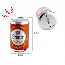 Broma electrica lata descarga calambre