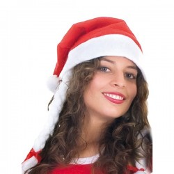 Gorro Papa Noel trenzas