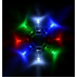 Luces para dedos unidad colores surtidos