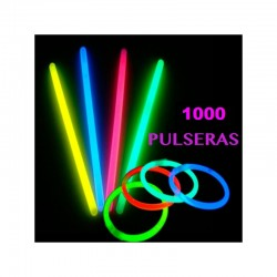 PACK 1000 PULSERAS REMOVEDORES LUMINOSOS0