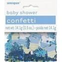 CONFETTI BABY SHOWER AZUL 14 GR