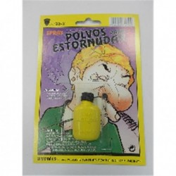 Polvos de estornudar en blister