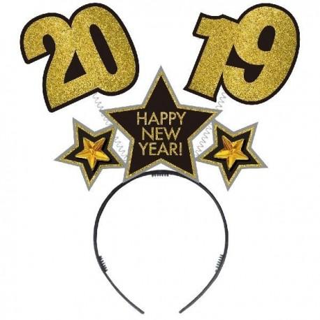 Diadema 2019 fin de año cotillon unidad para nochevieja