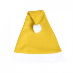 Gorro papa noel amarillo barato
