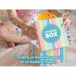 Mecanismo para caja lanza confeti stuffed box
