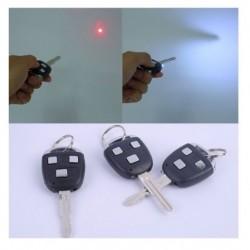 Broma llave de coche laser luz y descarga electrica