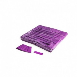 Confeti papel rectangular morado