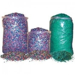 Confeti 5 kilos granel multicolor